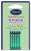Superior Topstich Titanium Coated 70/10