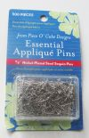 Essential Applique Pins - 500 Ct.