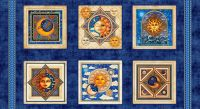 24377-W - Celestial Sol Panel - Midnight