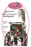 Eazier Livin Stroller/Wheelchair Backpack Pattern