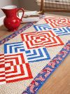 Glory In The Cabin Table Runner - Pattern