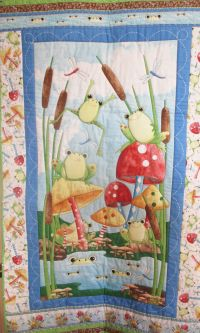 It's A Pond Party Quilt Kit