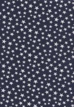PATROFF-WSOB - Made In USA Patriotic - Blue Stars on White Grnd - 1 Yd Precut.